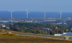 北栄町の風車